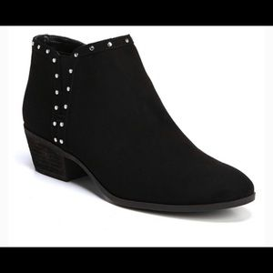 Sam Edelman Circus Suede Studded Ankle Boots